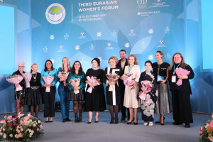"""Public Recognition"" Award Presented at Third Eurasian Women's Forum"