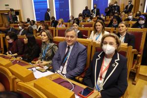Дмитрий Кобицкий: Темы, поднятые на Евразийском женском форуме, находят отражение в повестке Межпарламентской Ассамблеи СНГ