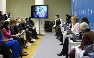 "Valentina Matvienko: Interaction of Eurasian Women's Forum and ""Women 20"" Should Develop Systematically"