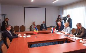 Состоялась встреча Валентины Матвиенко и Игоря Гросу