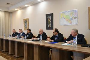 Состоялась встреча международных наблюдателей от СНГ и БДИПЧ ОБСЕ