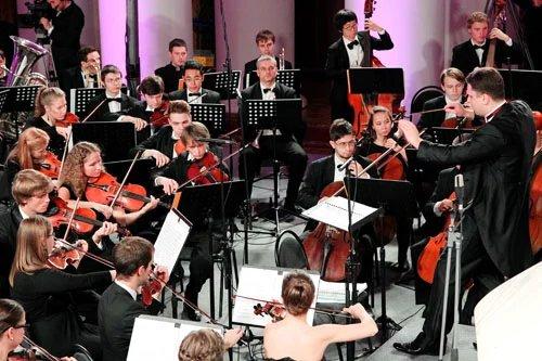 В Петербурге Владимиру Путину сделали музыкальный комплимент
