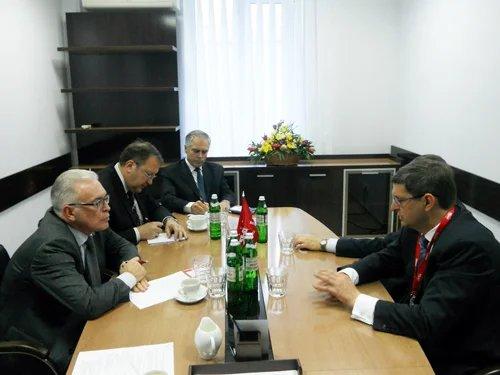Генеральный секретарь Совета МПА СНГ Алексей Сергеев встретился с представителями партии