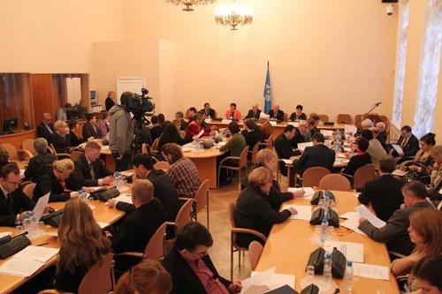 В Таврическом дворце начала работу международная конференция «Межкультурный диалог – важный фактор развития гражданского общества»