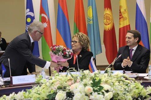 Валентина Матвиенко переизбрана Председателем Совета Межпарламентской Ассамблеи СНГ