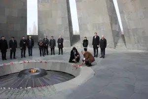 Наблюдатели почтили память жертв Геноцида армян