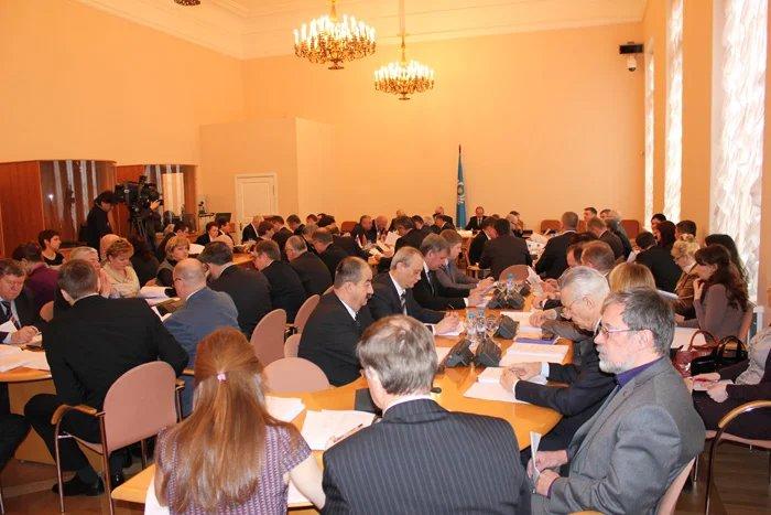 Заседание Постоянной комиссии МПА СНГ по вопросам обороны и безопасности
