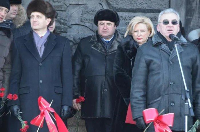 Председатель Государственной Думы РФ Сергей Нарышкин посетил мемориал «Поклонный Крест с лампадой»