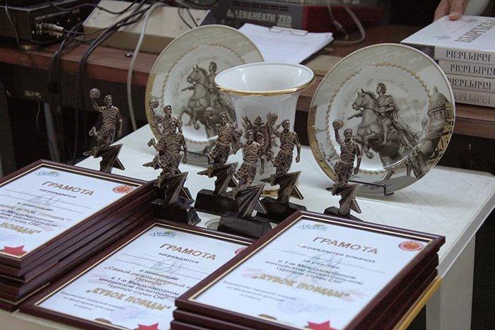 Участники юношеского турнира среди стран СНГ по баскетболу почтили память погибших в Великой Отечественной войне