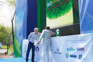 Алексей Сергеев дал старт ЭкоКинотеатру в Таврическом саду