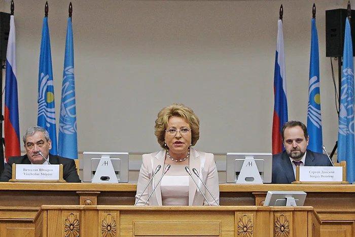 Валентина Матвиенко об экологическом законодательстве СНГ