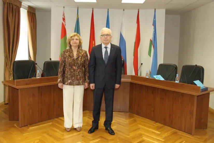 Алексей Сергеев посетил Экономический Суд СНГ