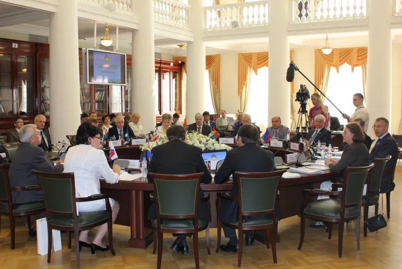 В Таврическом дворце началось заседание Парламентской Ассоциации  Северо-Запада