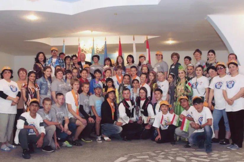 Молодежный форум государств – участников СНГ на берегу Иссык-Куля