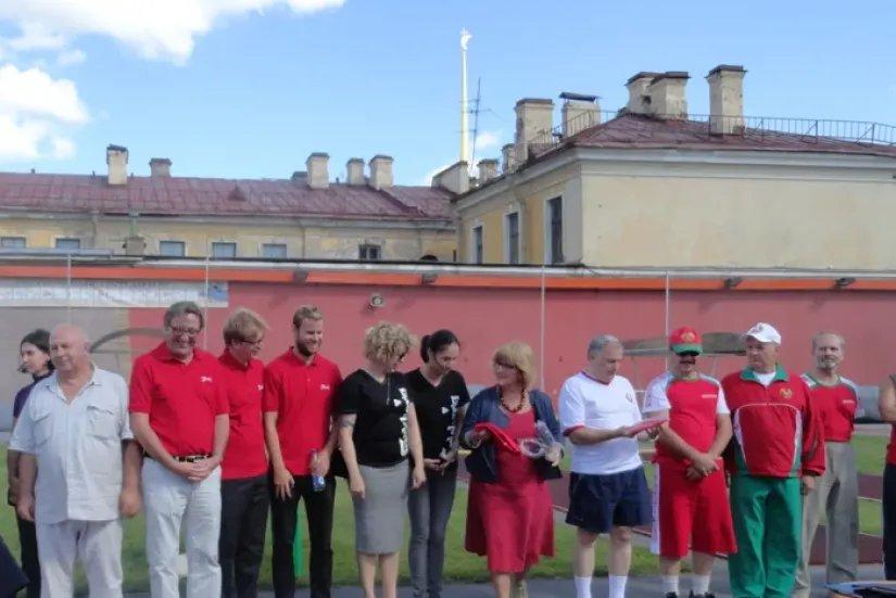 Команда Секретариата Совета МПА СНГ -  финалист соревнований по городошному спорту