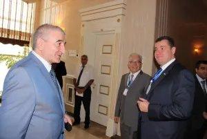 Международные наблюдатели от МПА СНГ на встрече в ЦИК Азербайджанской Республики