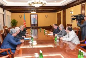 Наблюдатели от МПА СНГ встретились с руководителем Парламента Азербайджанской Республики