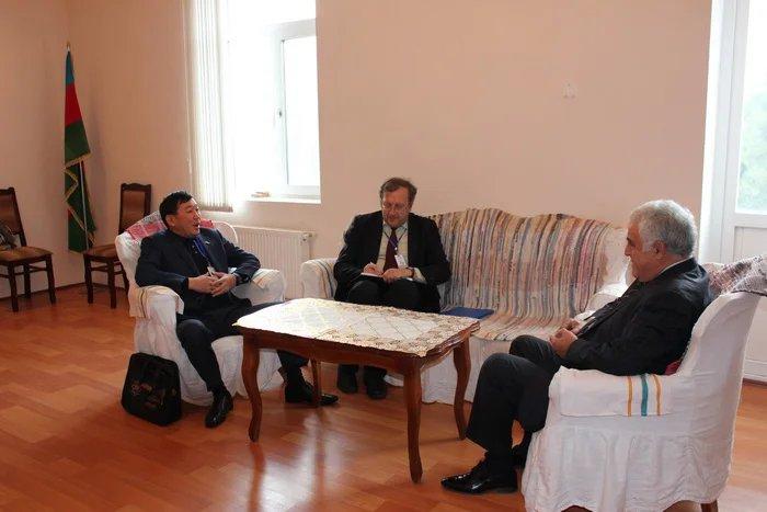 Наблюдатели МПА СНГ встретились с кандидатом в Президенты Азербайджана от партии