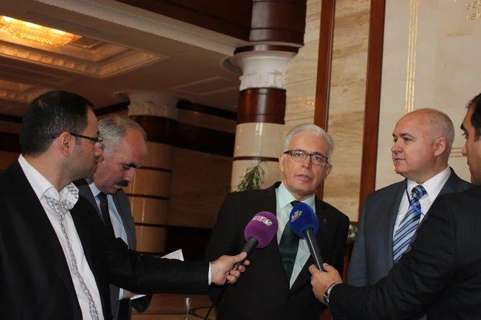 Выборы в Азербайджане. Олег Лебедев и Алексей Сергеев пообщались с прессой