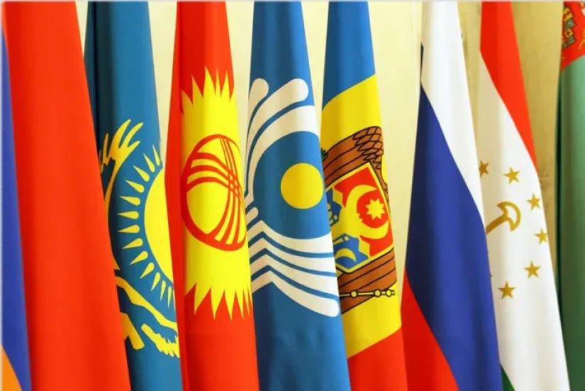 Флаги СНГ появились в городах Республики Молдова