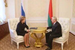 Валентина Матвиенко встретилась с Анатолием Рубиновым в Минске