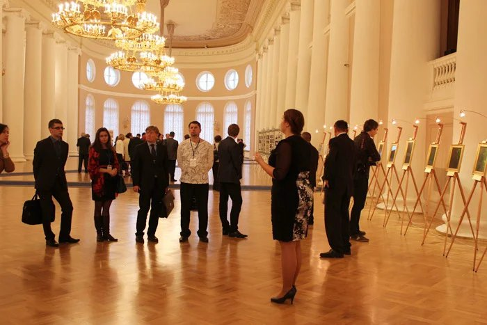 В Таврический дворец приехали участники Форума партнеров «Санкт-Петербург - города и регионы Украины»