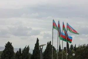 Флаг Азербайджанской Республики отмечает 95-й день рождения
