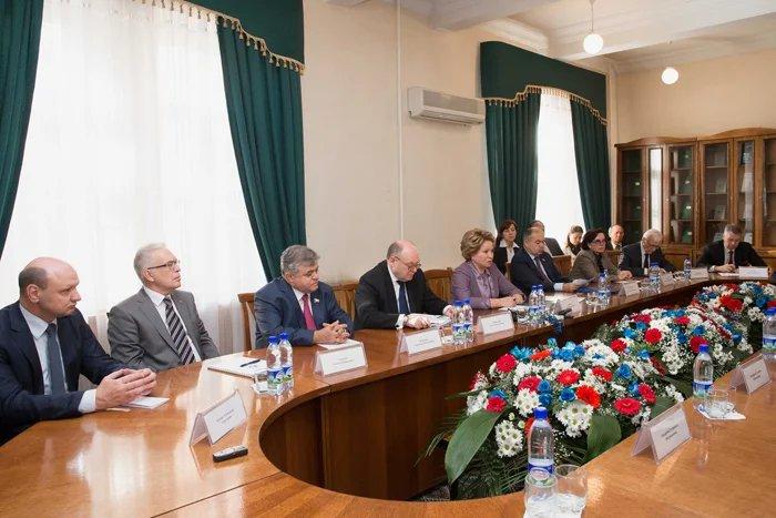 Валентина Матвиенко предложила создать Евразийский Форум женщин
