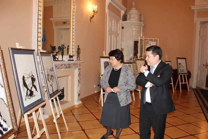Работы французского художника показали в Санкт-Петербурге