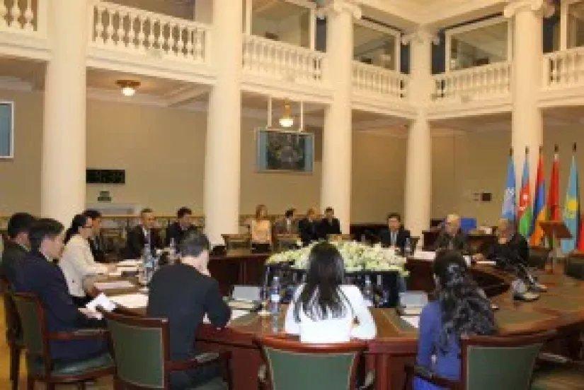Молодых исследователей из Кыргызской Республики наградили дипломами и памятными подарками