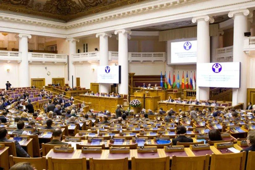 Тридцать девятое пленарное заседание МПА СНГ прошло в Петербурге