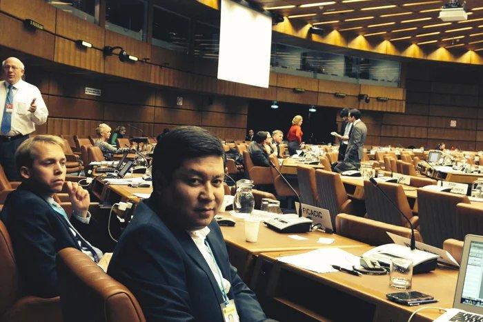Представитель МПА СНГ участвует в заседании ЮНСИТРАЛ