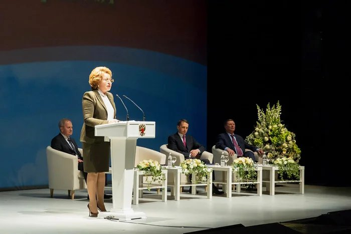 Федеральное Собрание провело заседание, посвященное 20-летию Конституции Российской Федерации