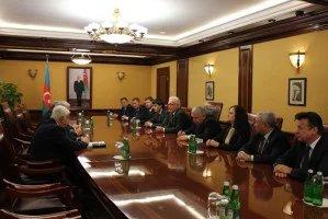 Алексей Сергеев встретился с Председателем Милли Меджлиса Азербайджанской Республики