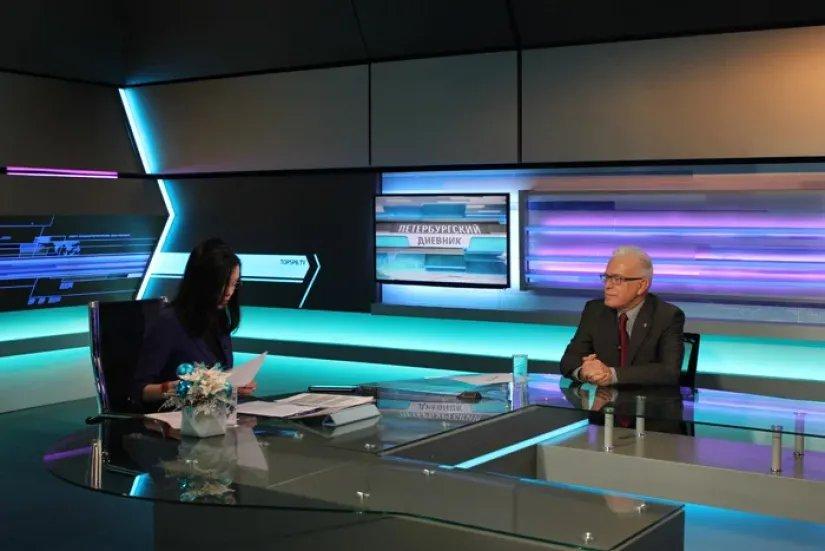 Алексей Сергеев в гостях у «Петербургского дневника»