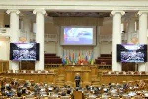 В Петербург приехали представители дипломатических миссий 33 государств