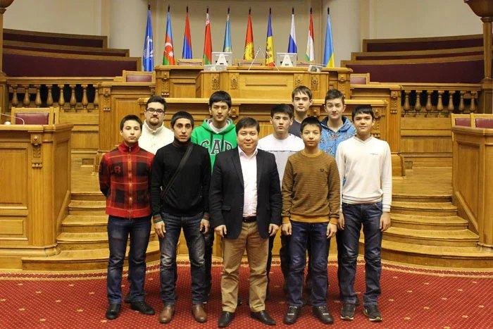 Молодые спортсмены из Кыргызской Республики приехали в Петербург