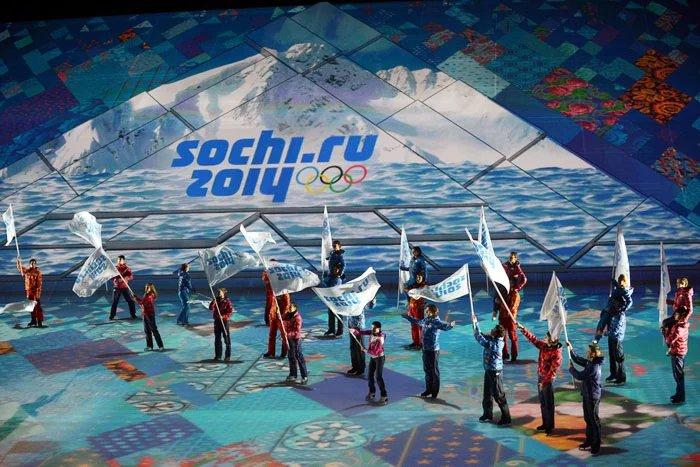 Знаменосцы стран Содружества на Олимпиаде в Сочи