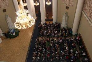 Уникальный органный вечер прошел в Таврическом дворце