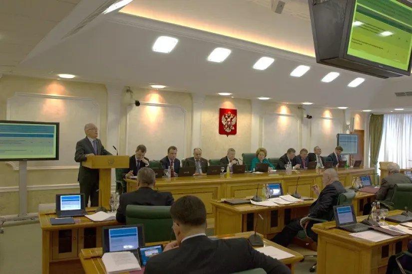 Алексей Сергеев  в Совете Федерации отчитался о совместной работе