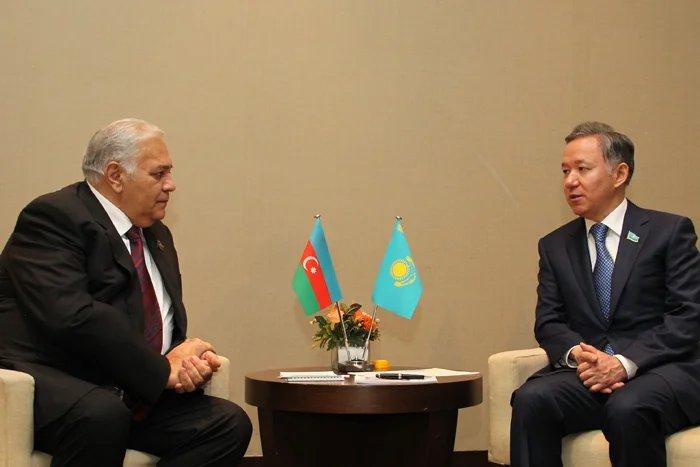 Спикеры парламентов Азербайджана и Казахстана подписали Соглашение о сотрудничестве