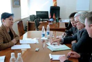 Заместитель Председателя Жогорку Кенеша встретилась с докладчиком ПАСЕ по Кыргызстану