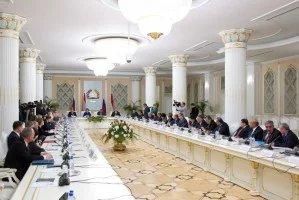 Валентина Матвиенко и Махмадсаид Убайдуллоев обсудили межпарламентское сотрудничество