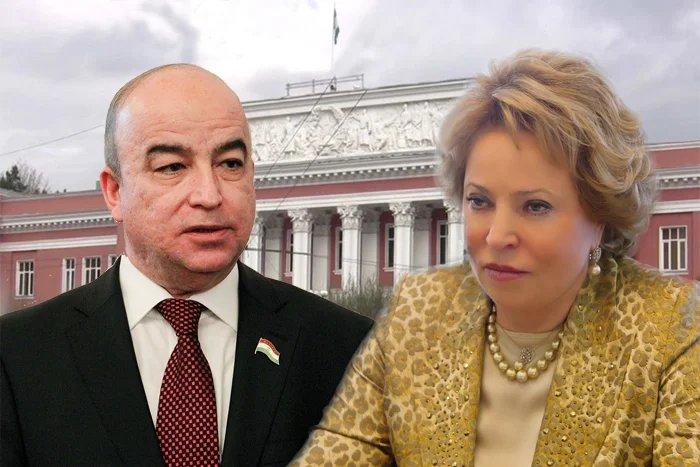 Валентина Матвиенко высоко оценила работу делегации Республики Таджикистан в МПА СНГ
