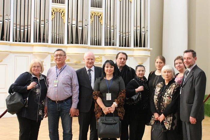 Участники фестиваля русских театров стран СНГ и Балтии приехали в Таврический дворец
