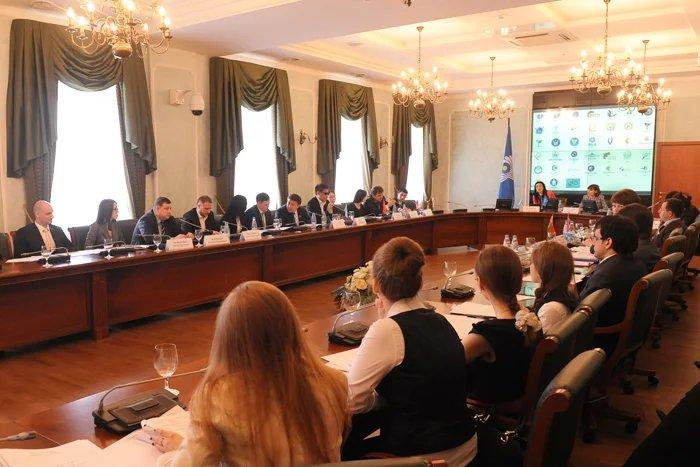В Парламентском центре МПА СНГ проходит третье заседание ММПА