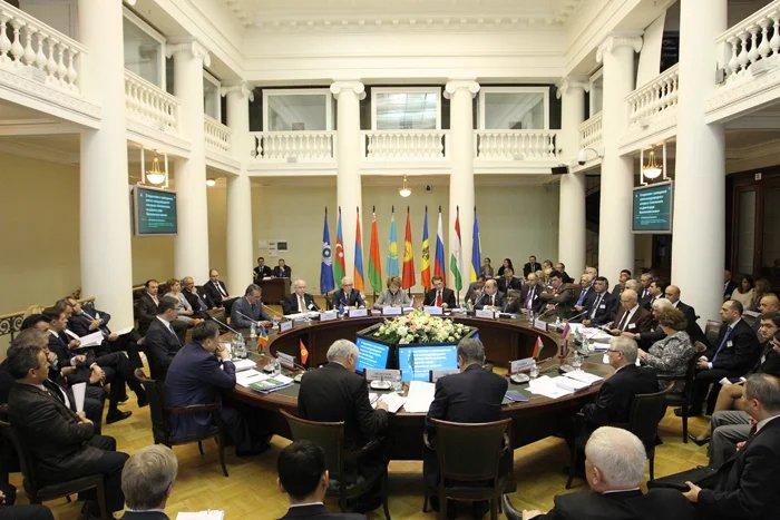 Завершилось заседание Совета МПА СНГ