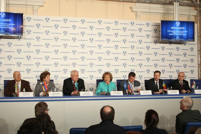 Главы парламентов и парламентских делегаций подвели итоги работы сессии МПА СНГ