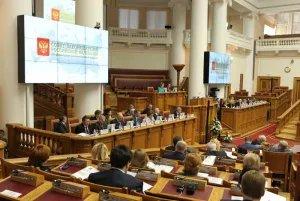Совет законодателей РФ прошел в Петербурге