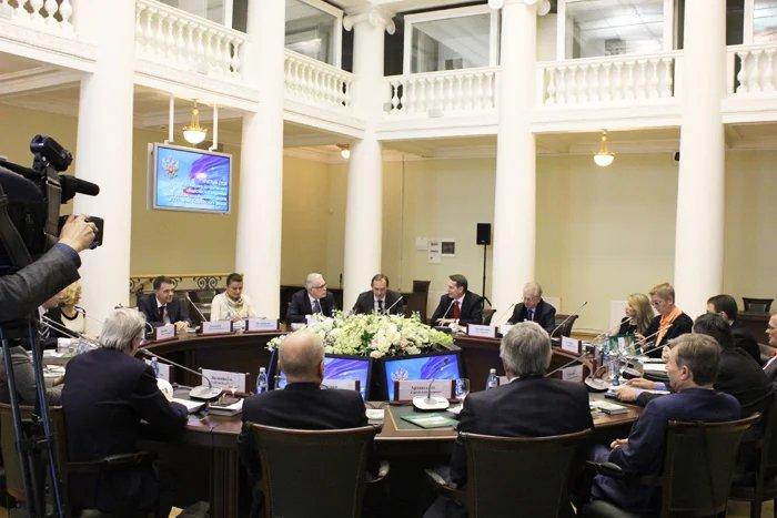 В Читальном зале Таврического дворца говорили о парламентаризме